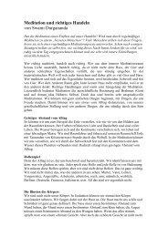 Meditation und richtiges Handeln von Swami Durgananda