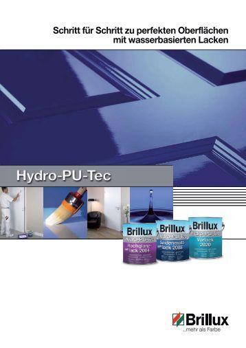 Broschüre Hydro-PU-Tec - Brillux