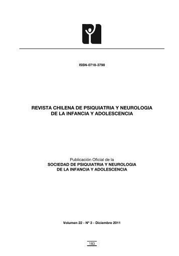 revista chilena de psiquiatria y neurologia de la infancia y ...