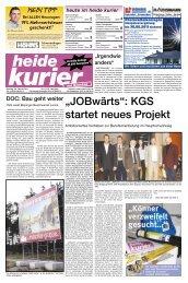 """""""JOBwärts"""": KGS startet neues Projekt"""