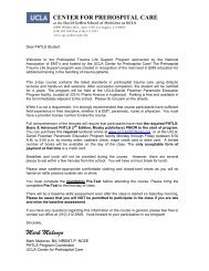 Mark Malonzo - UCLA Center for Prehospital Care