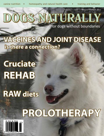 January/February 2012 - Dogs Naturally Magazine