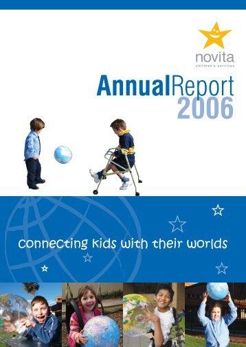 Novita Annual Report 2006 (PDF - Large file - 2Mb)