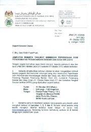 surat jemputan peserta taklimat bimbingan peperiksaan skim ... - JPBD