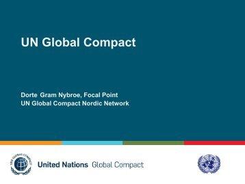 UN Global Compact - Global Compact Nordic Network