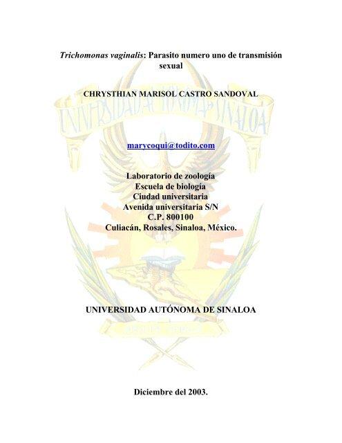 uretrite trichomoniasis