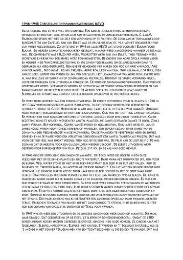 Oral history - Historische Vereniging Capelle aan den IJssel
