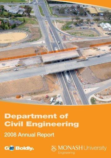 Department of Civil Engineering - Faculty of Engineering - Monash ...