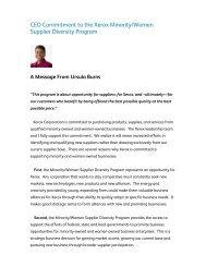 CEO Commitment to the Xerox Minority/Women Supplier Diversity ...