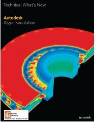 AutoCAD Inventor Simulation 2012 Technical ... - Applied Software