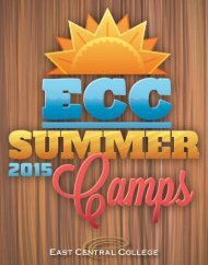 Summer Camps Booklet