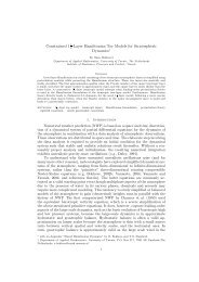 Constrained 11 -Layer Hamiltonian Toy Models for Stratospheric ...