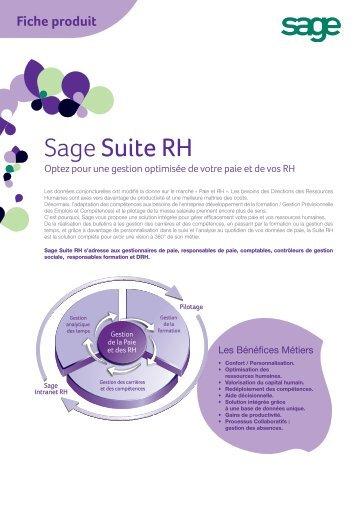 Sage Suite RH (pdf) - Infoclip