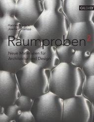Neue Materialien für Architektur und Design - Designpanel