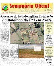 Governo do Estado agiliza instalação do Batalhão da PM em Avaré