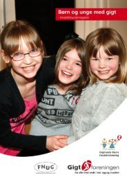 Børn og unge med gigt - forældreundersøgelsen (pdf) - Gigtforeningen