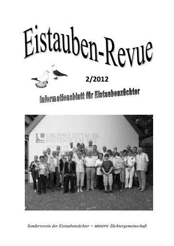 Einladung zur Hauptsonderschau vom 2.-4.11 ... - SV der Eistauben