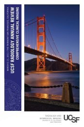 comprehensive clinical imaging - UCSF Department of Radiology ...