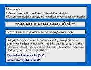 Dr. Uldis Bethers (Latvijas Universitāte)