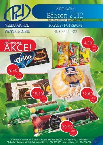 Katalog Šumperk březen 1-4 2012.cdr - Patrik Hlobil