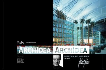INTERVIEW HELMUT JAHN - ArchIdea