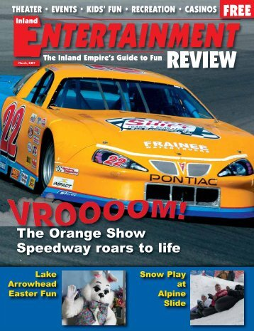 to view a complete pdf file - Inland Entertainment Review Magazine