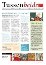 """Van The Passion naar """"het lijden nabij"""" - Bisdom Rotterdam"""