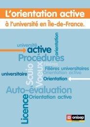 L'orientation active - Lycée Maurice Ravel