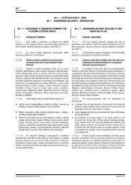 AD 1.1 - Letecká informační služba - Řízení letového provozu