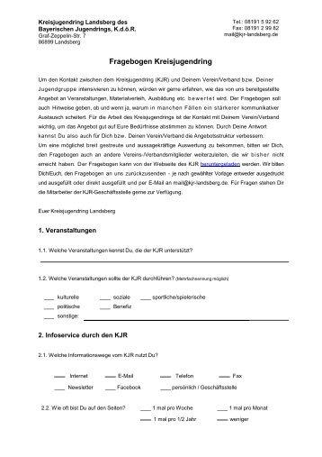 Fragebogen KJR 2013 Ausdruck.pdf - Kreisjugendring Landsberg ...