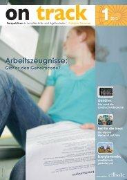 On Track - LMV-Jobbörse