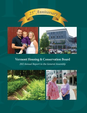 Vermont Housing & Conservation Board - Vermont Legislature