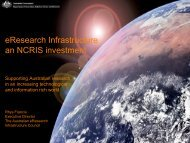 eResearch Infrastructure - National Statistical Service