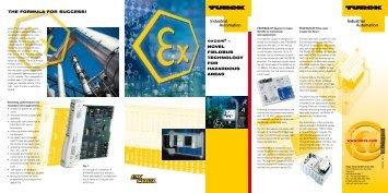 excom - Novel fieldbus technology for hazardous areas - Elion