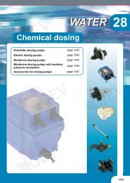 Water-Chemical dosing
