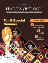 Leaders Outlook Magazine-Summer-Fall-Issue 8 - TAG-Publication