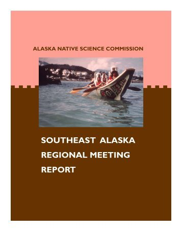 SE Report 11-05.pub - Alaska Native Science Commission