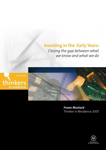 Investing in the Early Years: - Adelaide Thinkers in Residence - SA ...