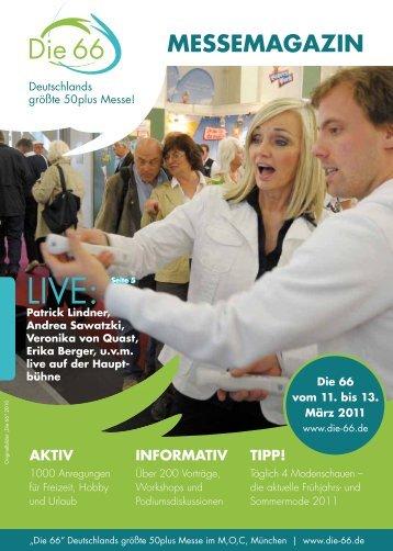 MesseMagazin Die 66 vom 11. bis 13. März 2011 - MONICA FAUSS