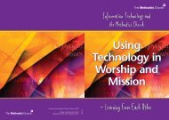 Using Tech in Worship - The Methodist Church of Great Britain