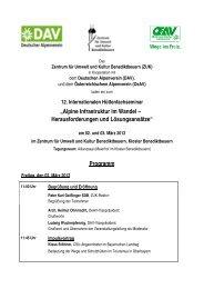 Tagungsprogramm_Hüt.. - Zentrum für Umwelt und Kultur ...