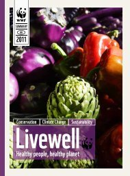 Livewell: healthy people, healthy planet - WWF UK