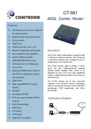 CT-561 ADSL Combo Router