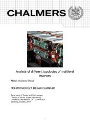 Analysis of different topologies of multilevel inverters - webfiles its ...