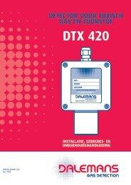 Détecteur DTX 420 - Dalemans Gas Detection