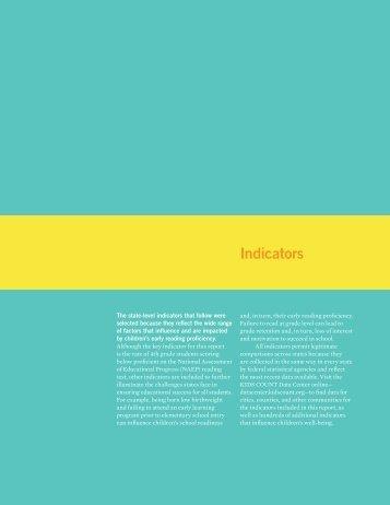 Indicators - Annie E. Casey Foundation