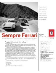 Volume 11 Issue 2 - March/April 2004 - Ferrari Club of America ...
