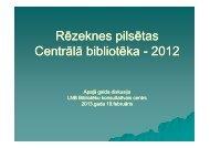 2012 - Academia