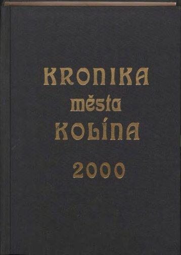 Kronika 2000 Barevné provedení (20,4 MB) - Kolín