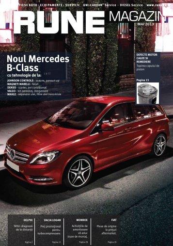 Noul Mercedes B-Class - RUNE Piese Auto